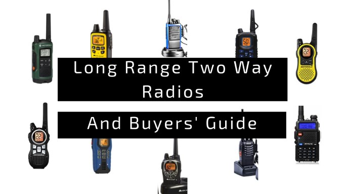 Best Long Range Two Way Radios