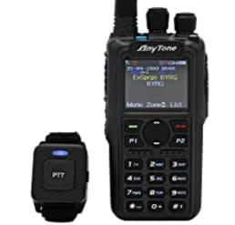 AnyTone AT-D878UV Plus Bluetooth GPS Best Runner Up DMR Radio