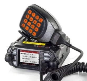 BTECH Mini UV-25X2 - Best Dual Band Mobile Ham Radio