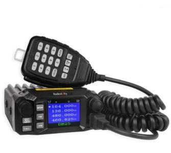 Radioddity DB25 Pro - Dual Band Mobile Ham Radio