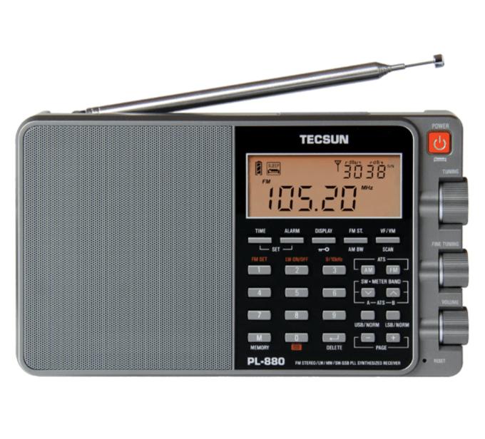 Tecsun PL880 Portable Digital PLL Shortwave Radio