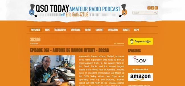 Top 5 Ham Radio Podcasts To Listen -2. QSO Today Podcast