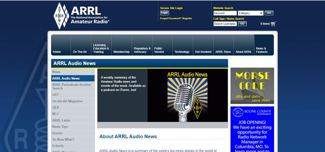Top 5 Ham Radio Podcasts To Listen -ARRL Audio News